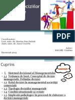 Management- Tipologia deciziilor manageriale