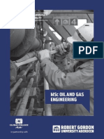 MSc Oil and Gas Engineering