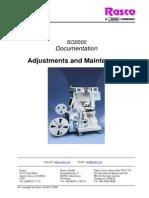 Adjustments and Maintenance SO2000