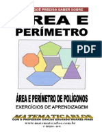 Area e Perimetro - Exercicio de Aprendizagem