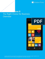 Windows Phone 8 Right Choice for Business