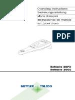 Mettler Toledo GS PX Refracto.usermanual