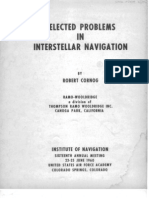 Selected Problems in Interstellar Navigation