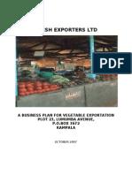 Fresh Fruits business Plan