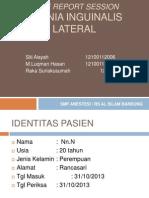Crs Hernia Inguinalis Lateral