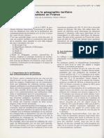 """Charles PAUTRAT - Pour une réforme de la géographie tarifaire des télécommunications en France -  Bulletin CEPT"""", n°1/1989 mai 1989."""