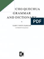 AYACUCHO QUECHUA GRAMMAR