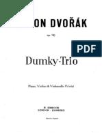 A. Dvorak - Trio Dumky