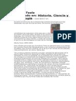 Nikola Tesla HISTORIA CIENCIA y TECNOLOGÍA