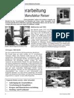 Hemd - Verarbeitung Tipps aus der Manufaktur Reiser