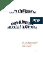 6_CONFERENCIA Armonía Moderna y Guitarra