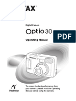 Optio30 Web