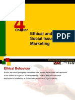 Ethical & Social Issues in Marketing