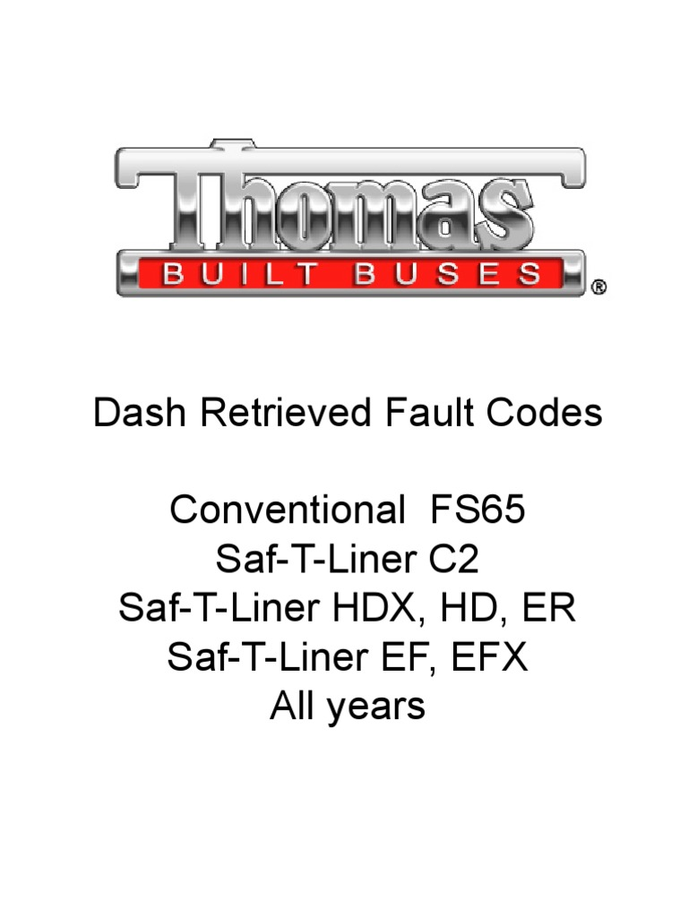 Dash-Retrieved Fault Codes All Models and Years | Turbocharger