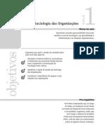 A sociologia das organizações