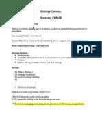 Strategy Course – AMMAR