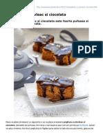 Lauraadamache.ro-prajitura Cu Dovleac Si Ciocolata