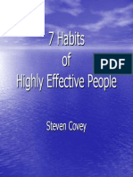 7 Habits of Highly Effective People Presentaiton Materials