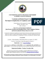 FBI Academic Alliance Program Flyer
