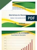 Estatísticas do Siscoserv 2013
