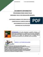 Documento Informativo SF (Comunidad) E. Infantil