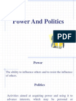 Power and Political Behavior