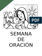 SEMANA DE ORACIÓN EN FAMILIA