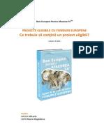 Proiecte Eligibile Pentru Fonduri Europene