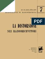 Coppa - La Distorsione Nei Radioricevitori - 1947
