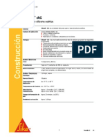 Msds - Silicona - Sikasil-Ac