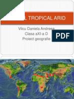 Mediul Tropical Arid
