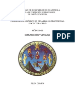 Módulo III Comunicación y lenguaje ciclo común -2013