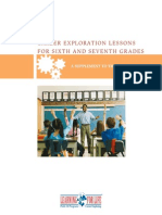 Career Exploration Lessons for Sixth and Seventh Grades