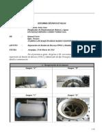 INFORME TÉCNICO Nº 022.11 - Reparacion de Bomba Barcaza PP811 y Metalizado de Eje