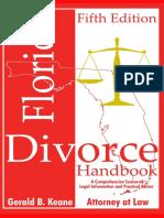 The Florida Divorce Handbook 5th ed by Gerald Keane