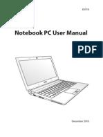Asus U36JC-NYC2 Manual