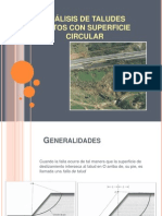 ANÁLISIS DE TALUDES FINITOS CON SUPERFICIE CIRCULAR (1)