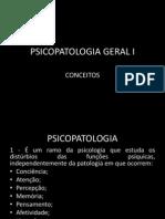 Psicopatoliga Geral I