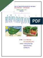 Hô hấp và bảo quản nông sản