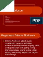 Eritema Nodosum