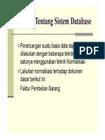 Tug a Saw Al Database