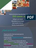 Presentacion ISO 22000 Final