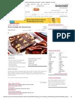 Receita de Pavê trufado de chocotone - Culinária - MdeMulher - Ed