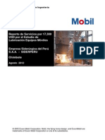 Reporte Sumario de Análisis de Aceites PGP Diciembre 2012 TIPO  FINAL