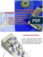 Procesos de Tratamientos Termicos de Los Metales Ferrosos.