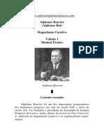 Magnetismo Curativo - Volume 1 (Alphonse Bouvier)