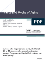 Aging Myths and Facts Powerpoint