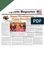 November 27 - December 3, 2013 Sports Reporter