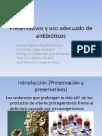 Preservativos y uso adecuado de antibióticos