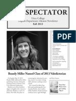 Spectator Fall 2013